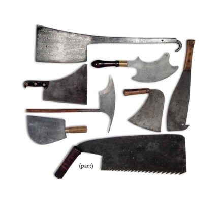 NINETEEN BLADED TOOLS