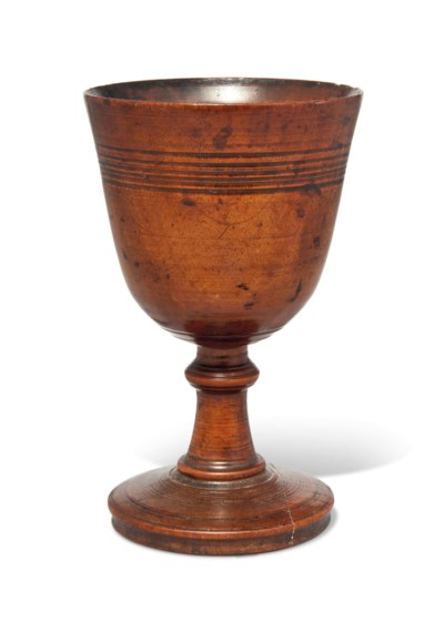 A SYCAMORE DRINKING-CUP
