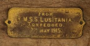 R.M.S. LUSITANIA (1915) AN OAK