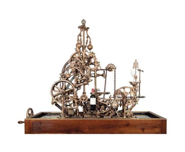 A Mechanical corckscrew and wi
