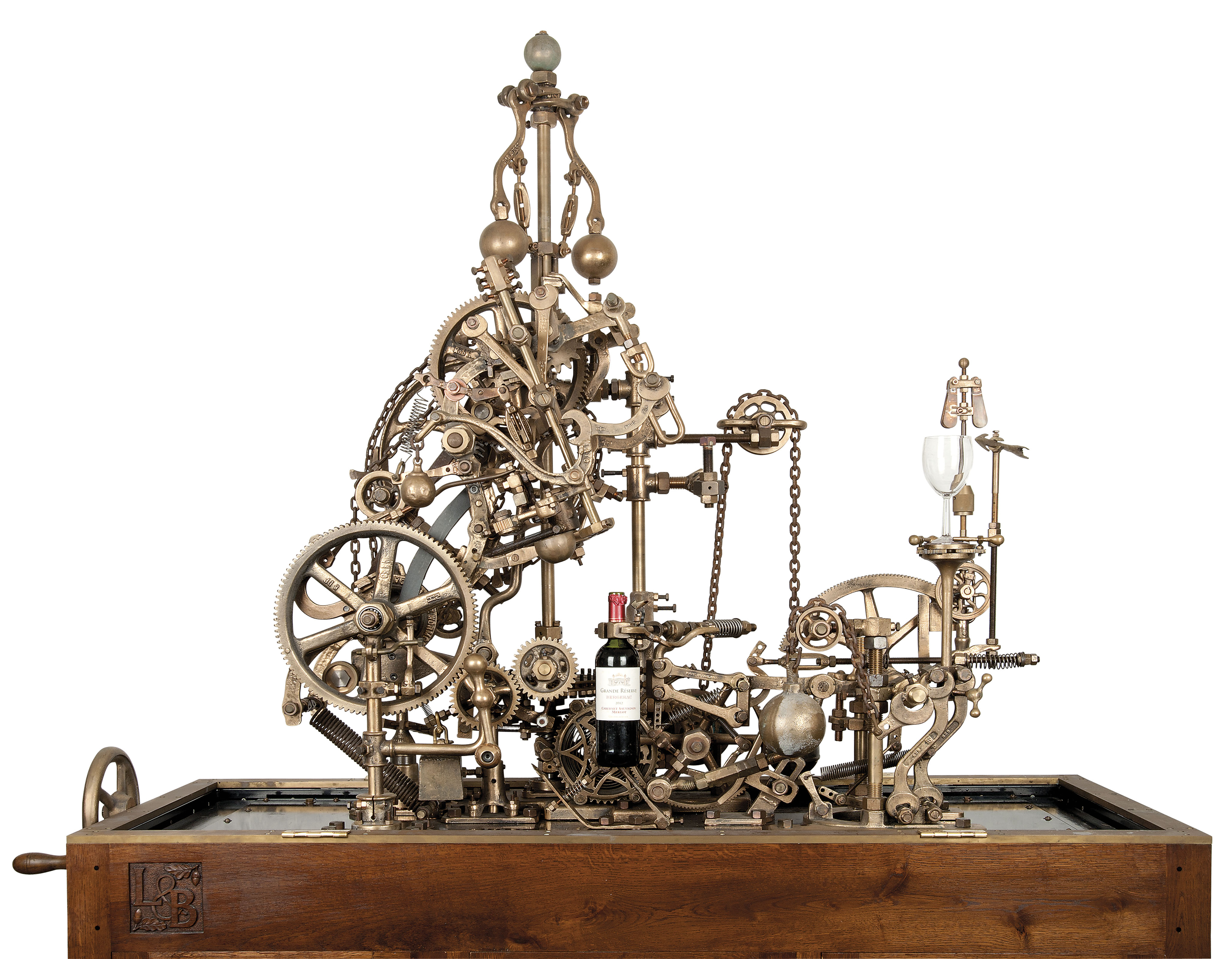 A MECHANICAL CORKSCREW AND WIN