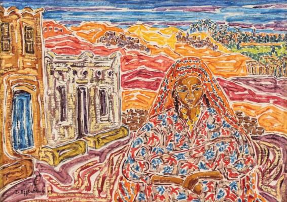 Inji Efflatoun (Egyptian, 1924