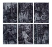 (i-iv, vi) Untitled (v) Pierre sur table