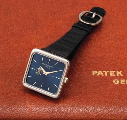 PATEK PHILIPPE. A RARE AND VER