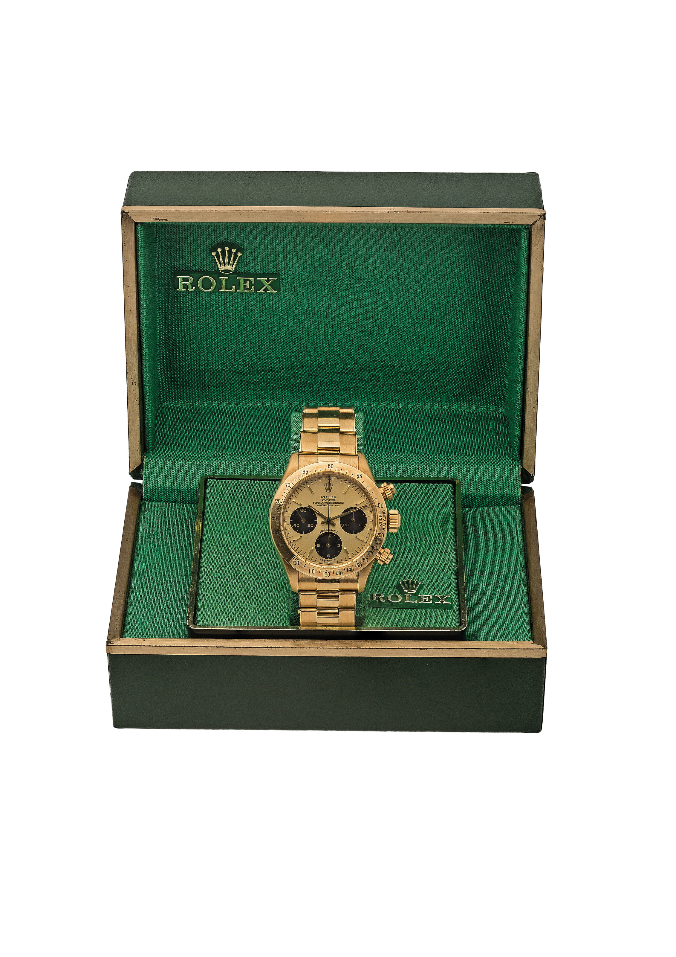 ROLEX. AN EXTREMELY FINE AND V
