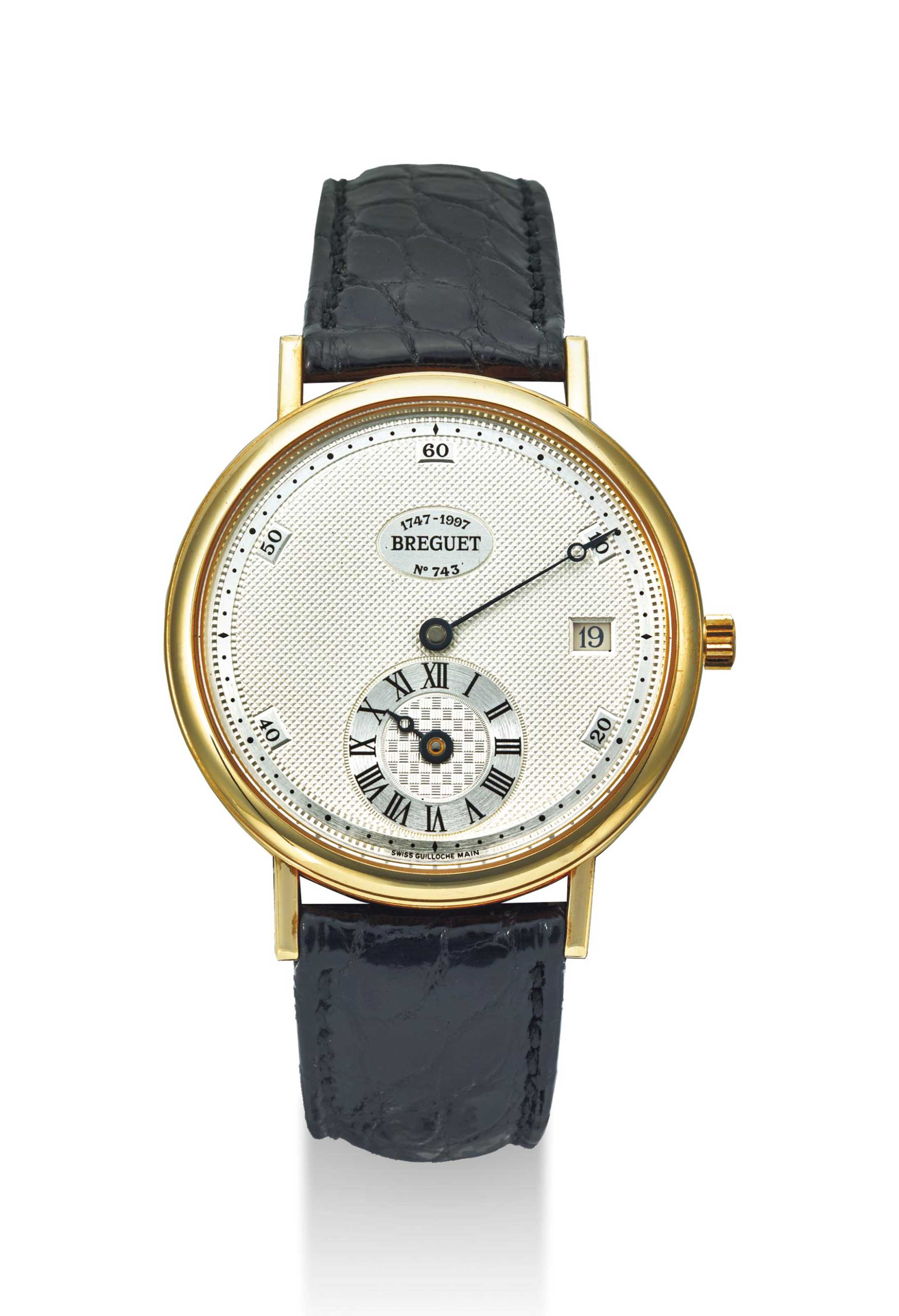 BREGUET. AN 18K GOLD LIMITED E