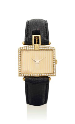 CORUM. AN 18K GOLD AND DIAMOND