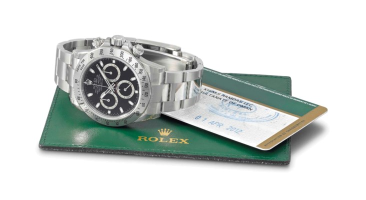 Rolex. A fine and very rare st