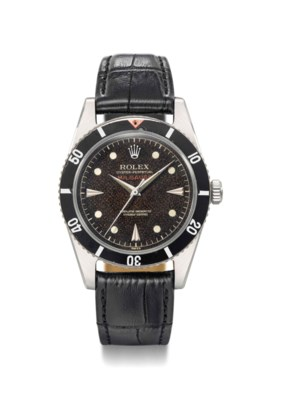 Rolex. An extremely rare and e