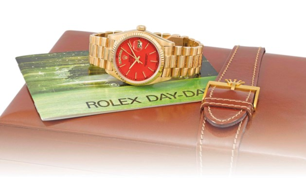 Rolex. A fine, rare and attrac
