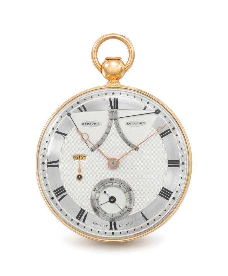 Breguet, No. 217. Sold for CHF 3,245,000 on 16 May 2016 at Christie's in Geneva
