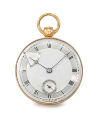 "Breguet, Paris, No. 2926 ""montre répétition perpétuelle en or"". A very fine and extremely rare 18K gold self-winding à toc quarter repeating lever watch with power reserve"