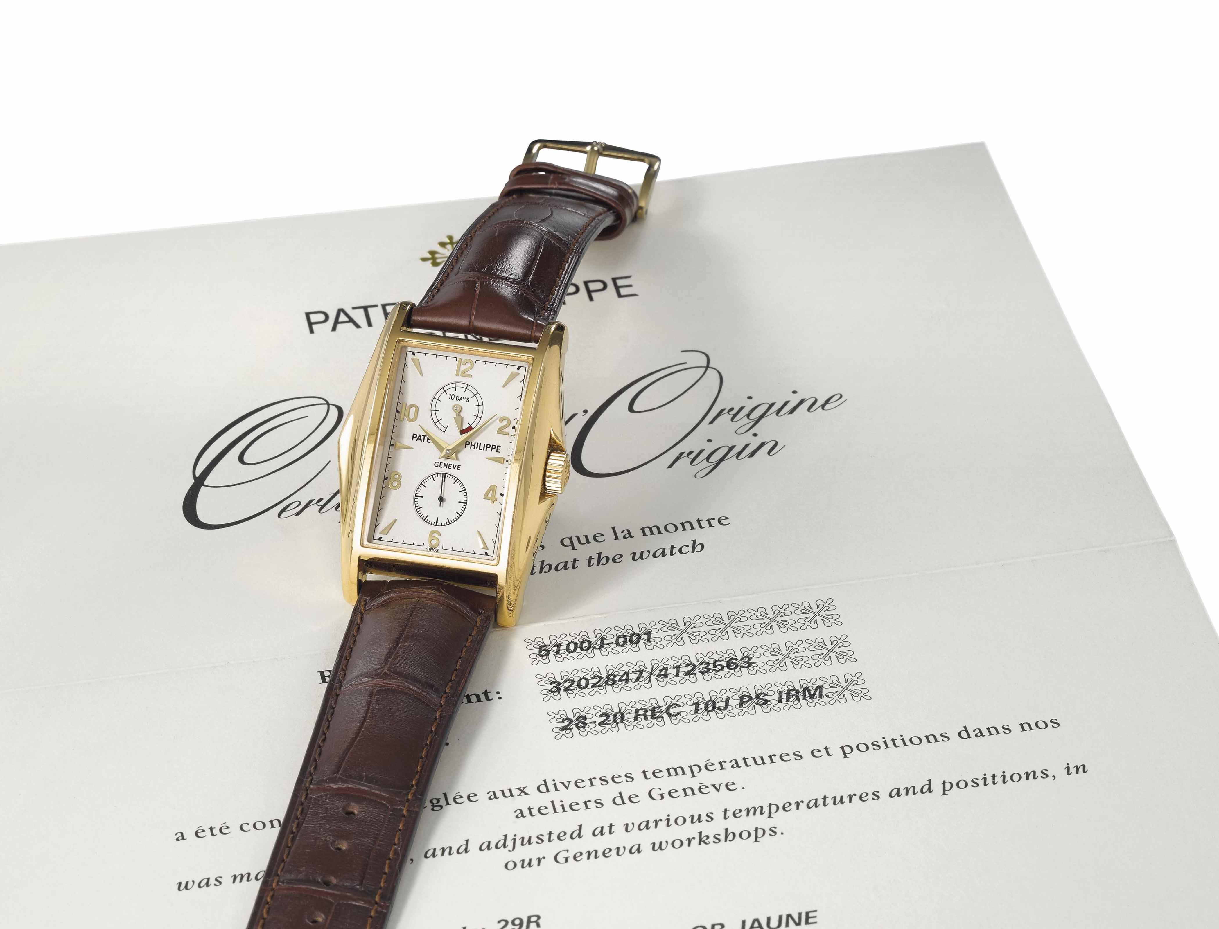 Patek Philippe. A very fine, r