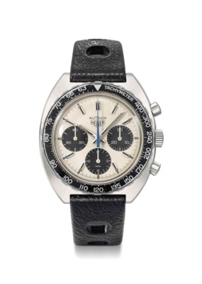 Heuer. An attractive stainless