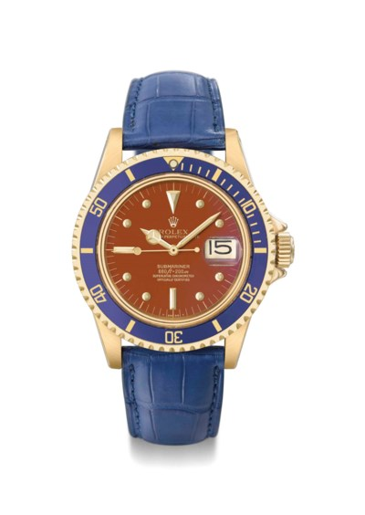 Rolex. An extremely fine, rare