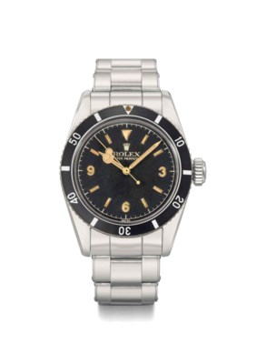 Rolex. An extremely rare stain