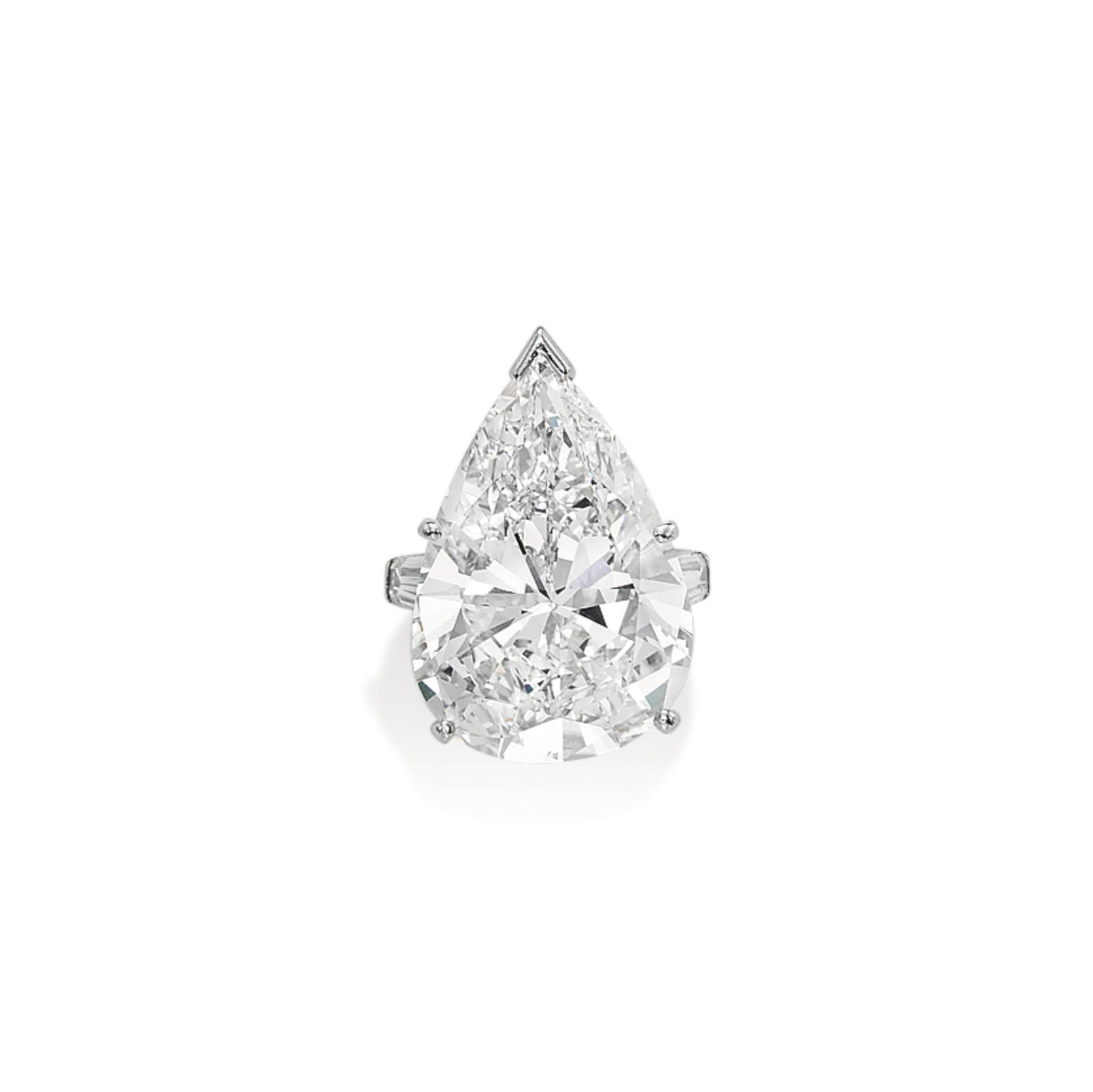 A MAGNIFICENT DIAMOND RING, BY VAN CLEEF & ARPELS