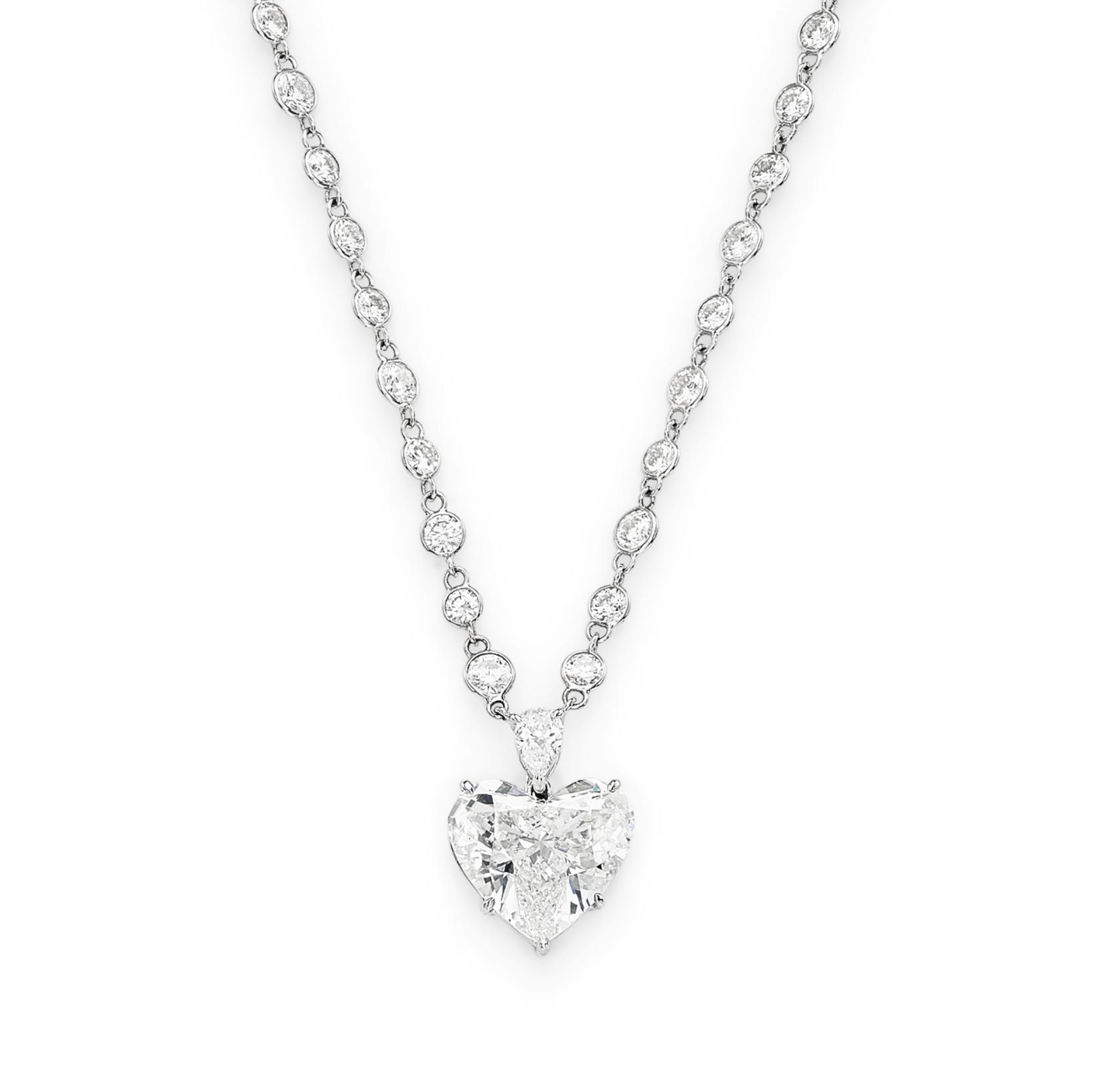 A DIAMOND PENDANT NECKLACE, BY SABBADINI