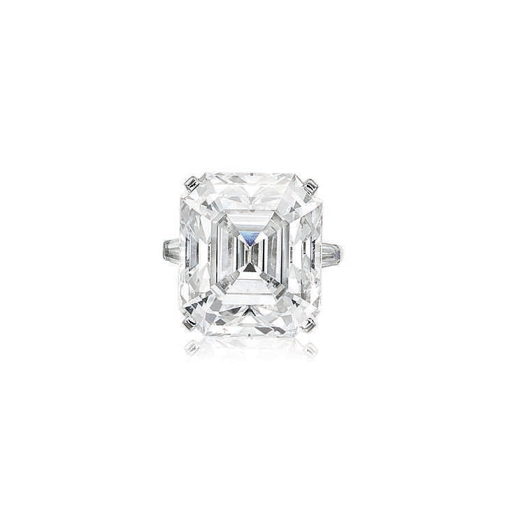 THE POHL DIAMOND AN EXCEPTIONAL DIAMOND RING, BY CARTIER