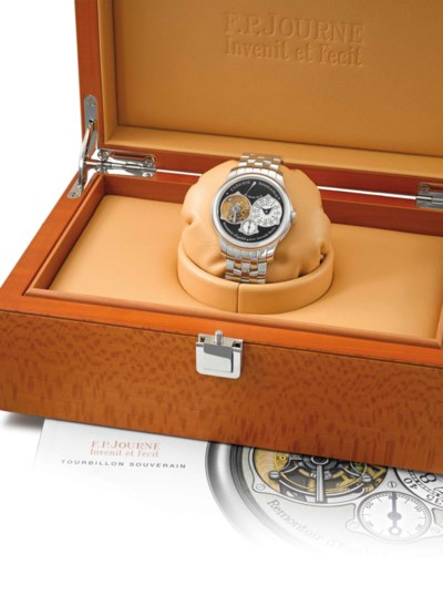 F.P. Journe. A very fine and v