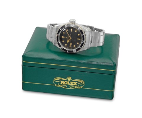 Rolex. A fine and very rare st