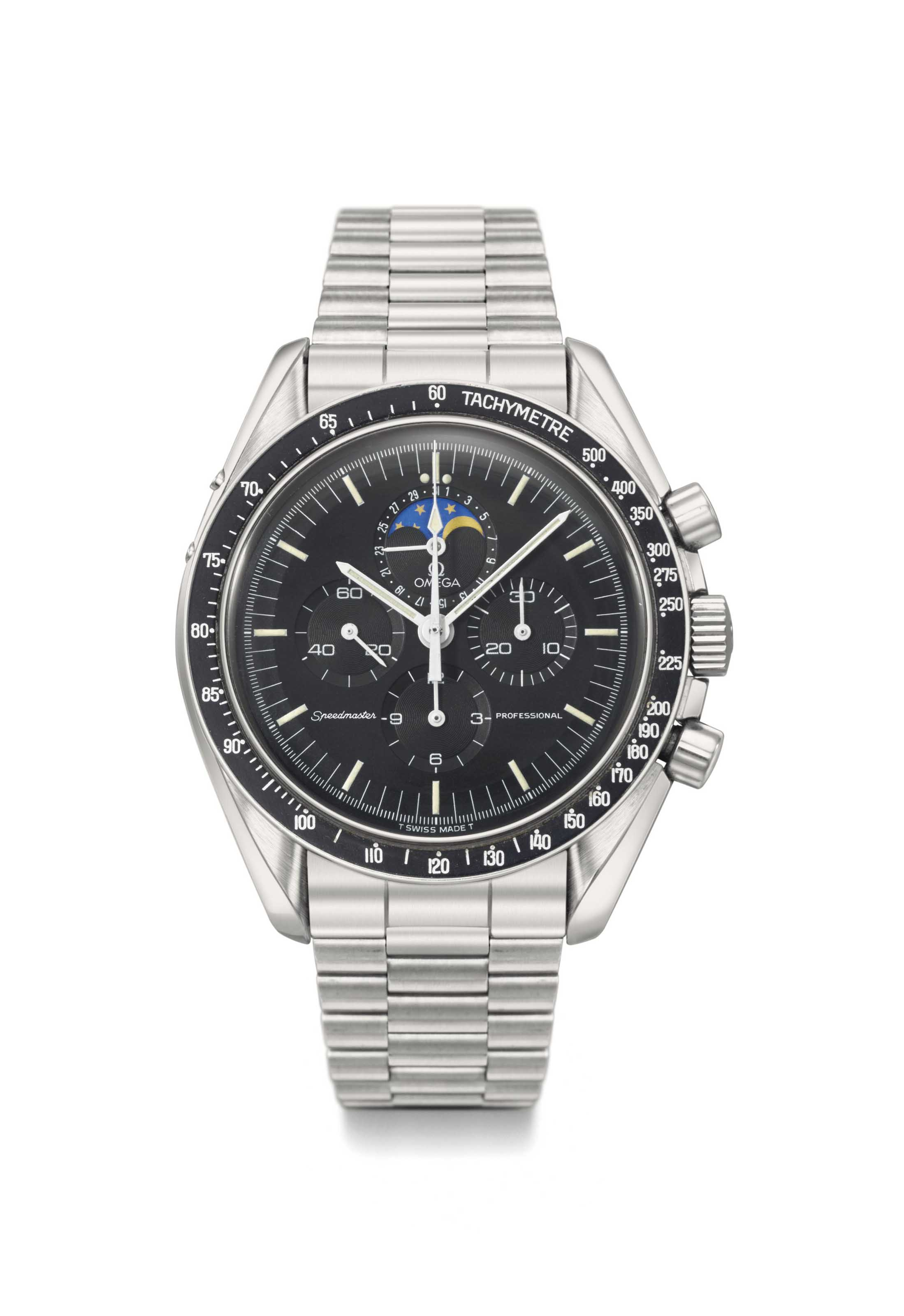omega speedmaster chronograph day date black dial bracelet cosc Discover a large selection of omega speedmaster day date watches on chrono24 dial numerals no numerals omega speedmaster chronograph day-date gold 18k/750.