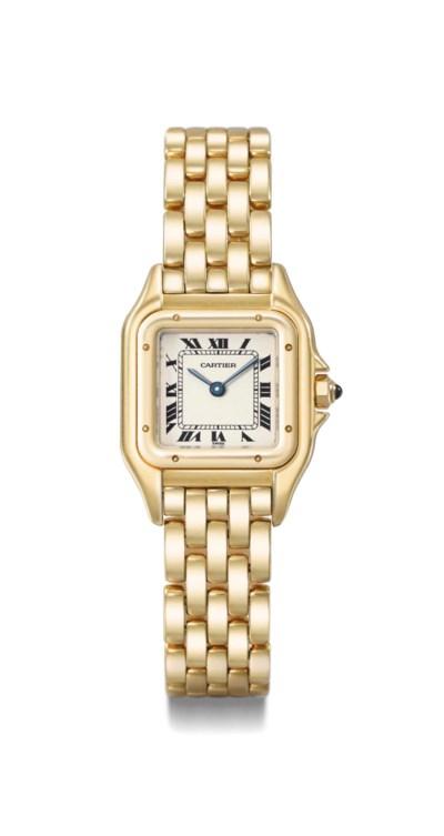 Cartier. A lady's fine 18K gol
