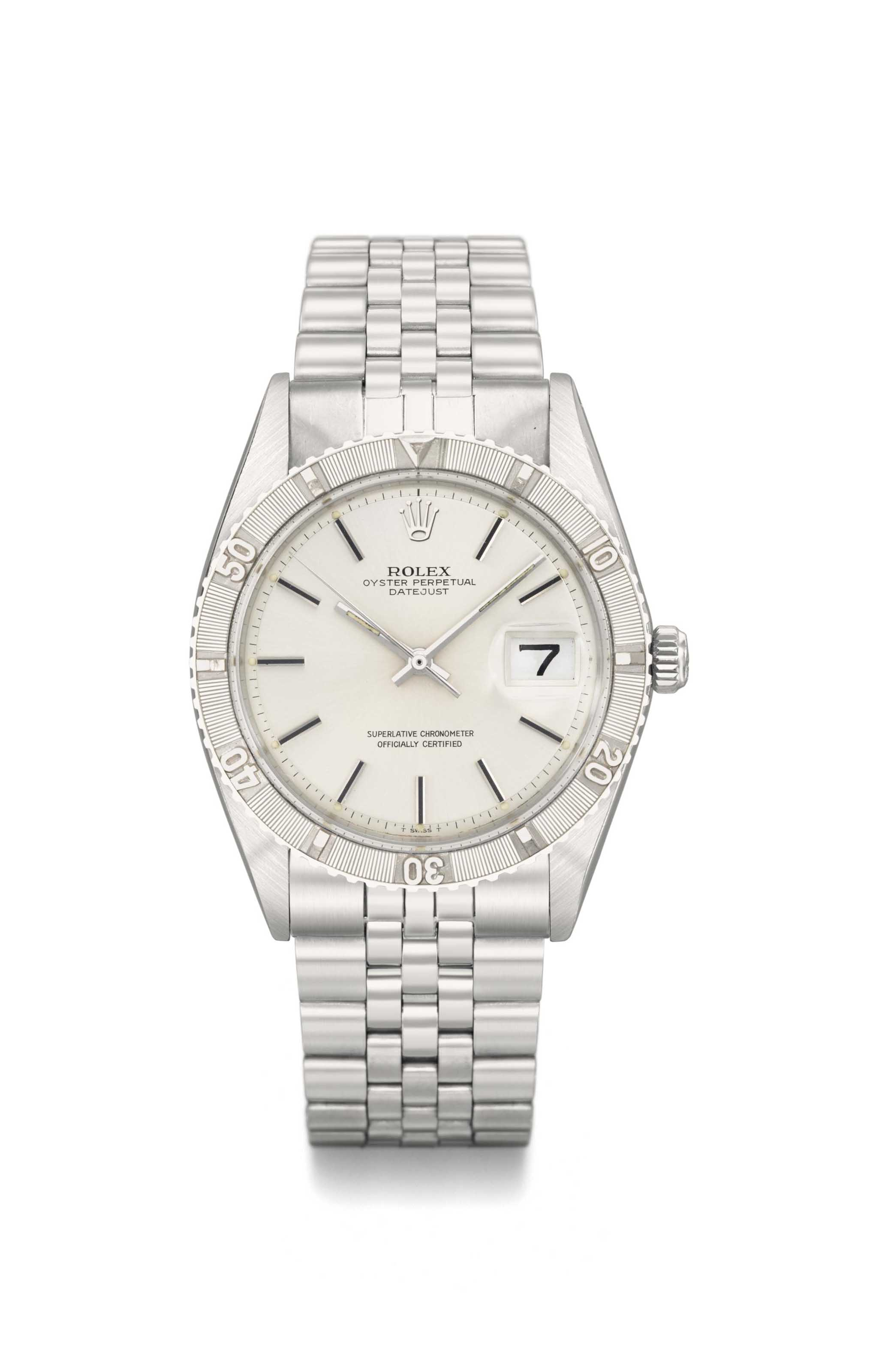 Rolex. An attractive stainless
