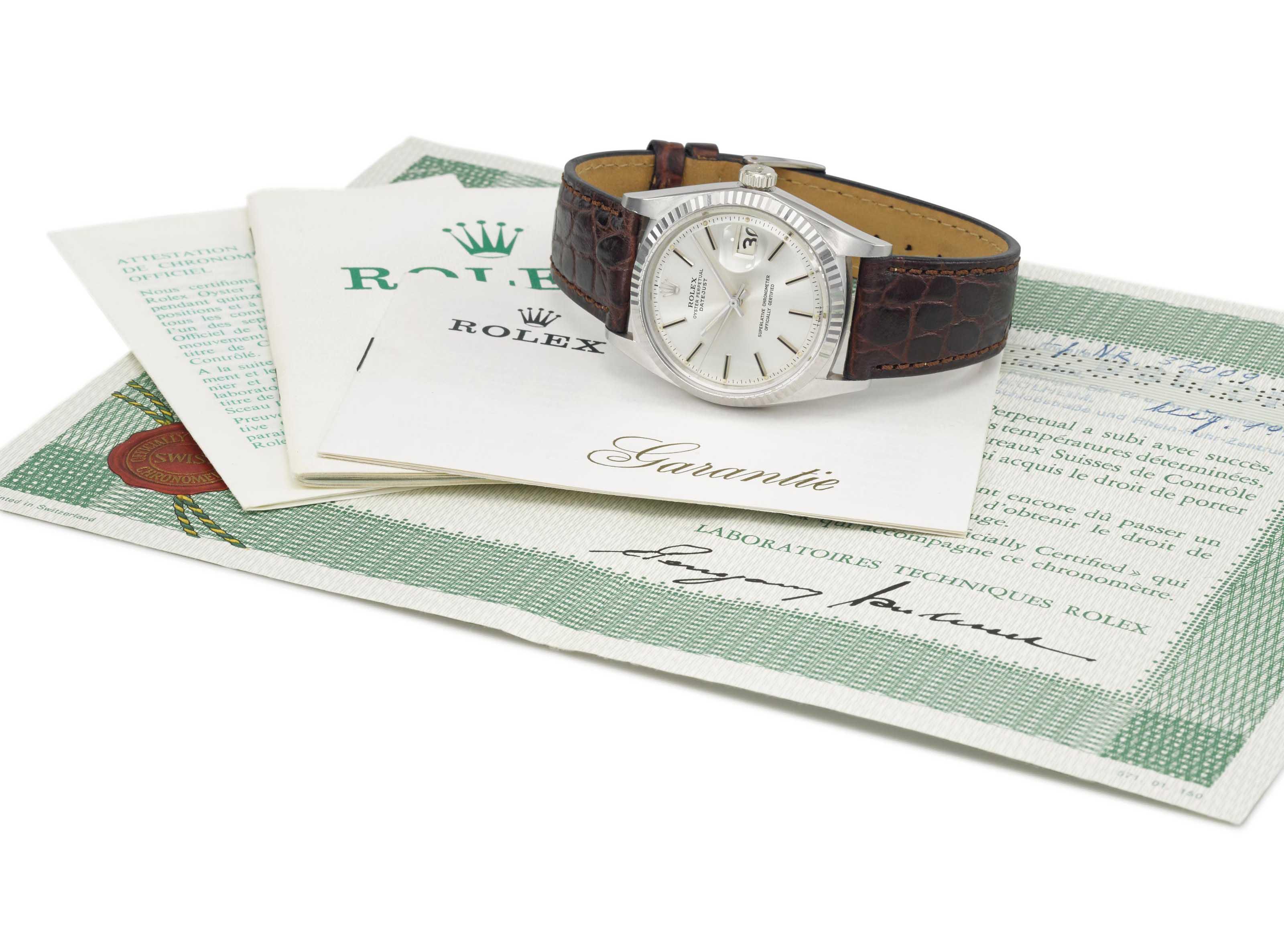 Rolex. A fine and very rare 18