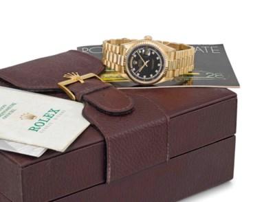 Rolex. A rare and attractive 1