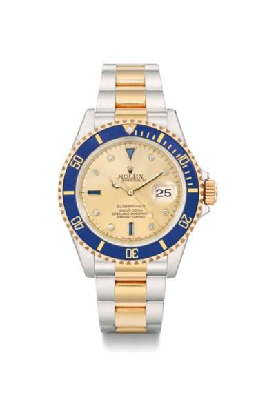Rolex. A fine and attractive s