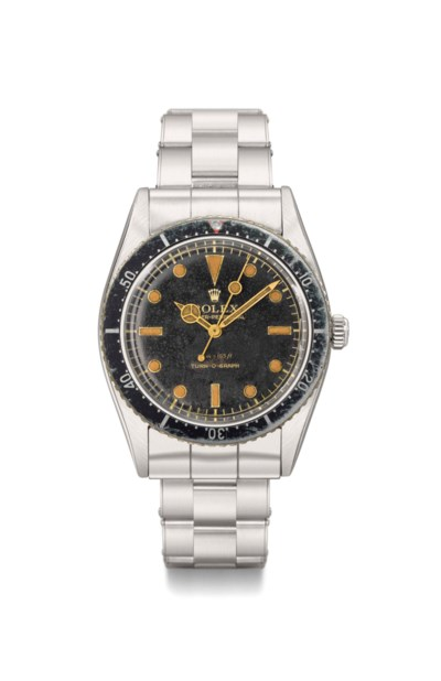 Rolex. A rare and early stainl