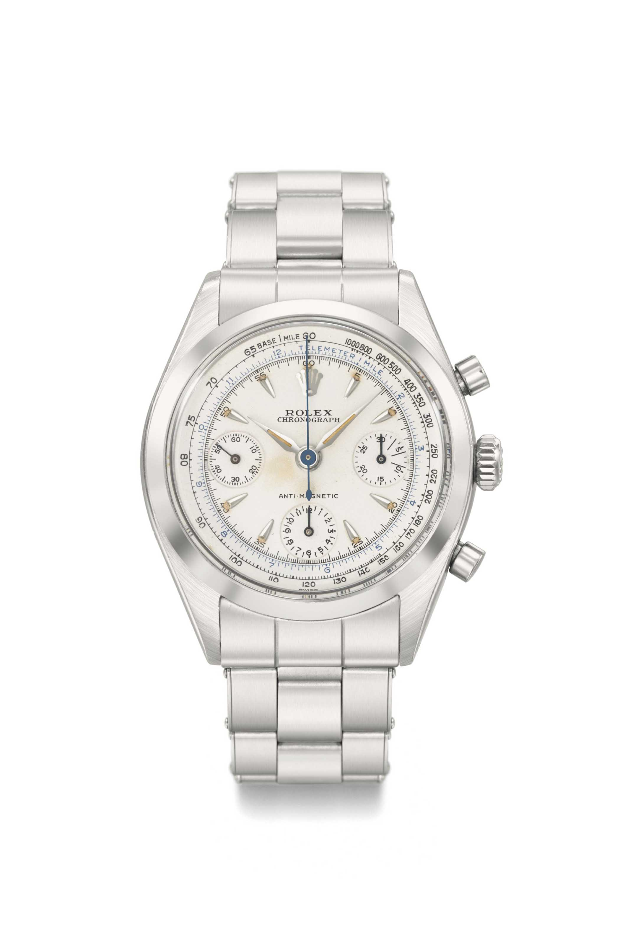 Rolex. A very fine stainless s
