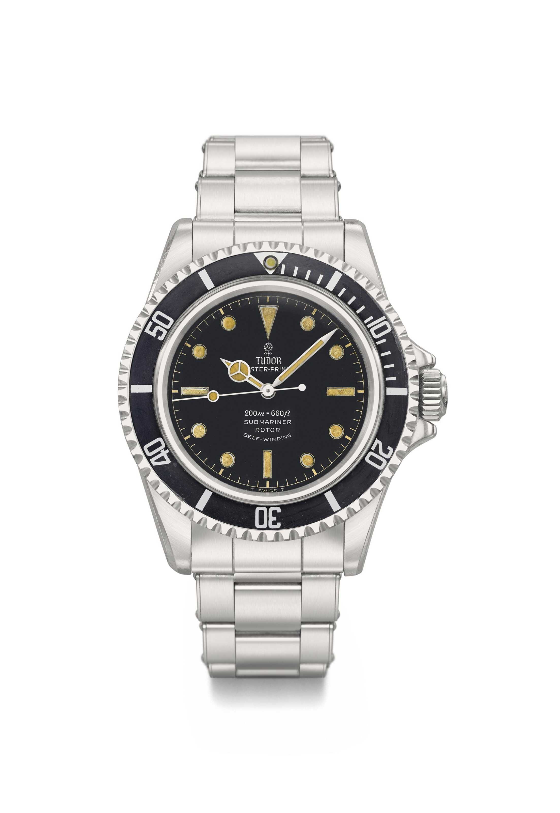 Tudor. An attractive stainless