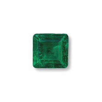 AN UNMOUNTED EMERALD