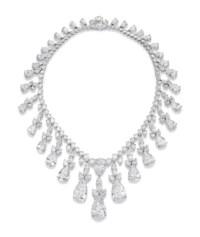 AN IMPRESSIVE DIAMOND FRINGE NECKLACE, BY HARRY WINSTON