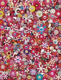 Skulls & Flowers Red