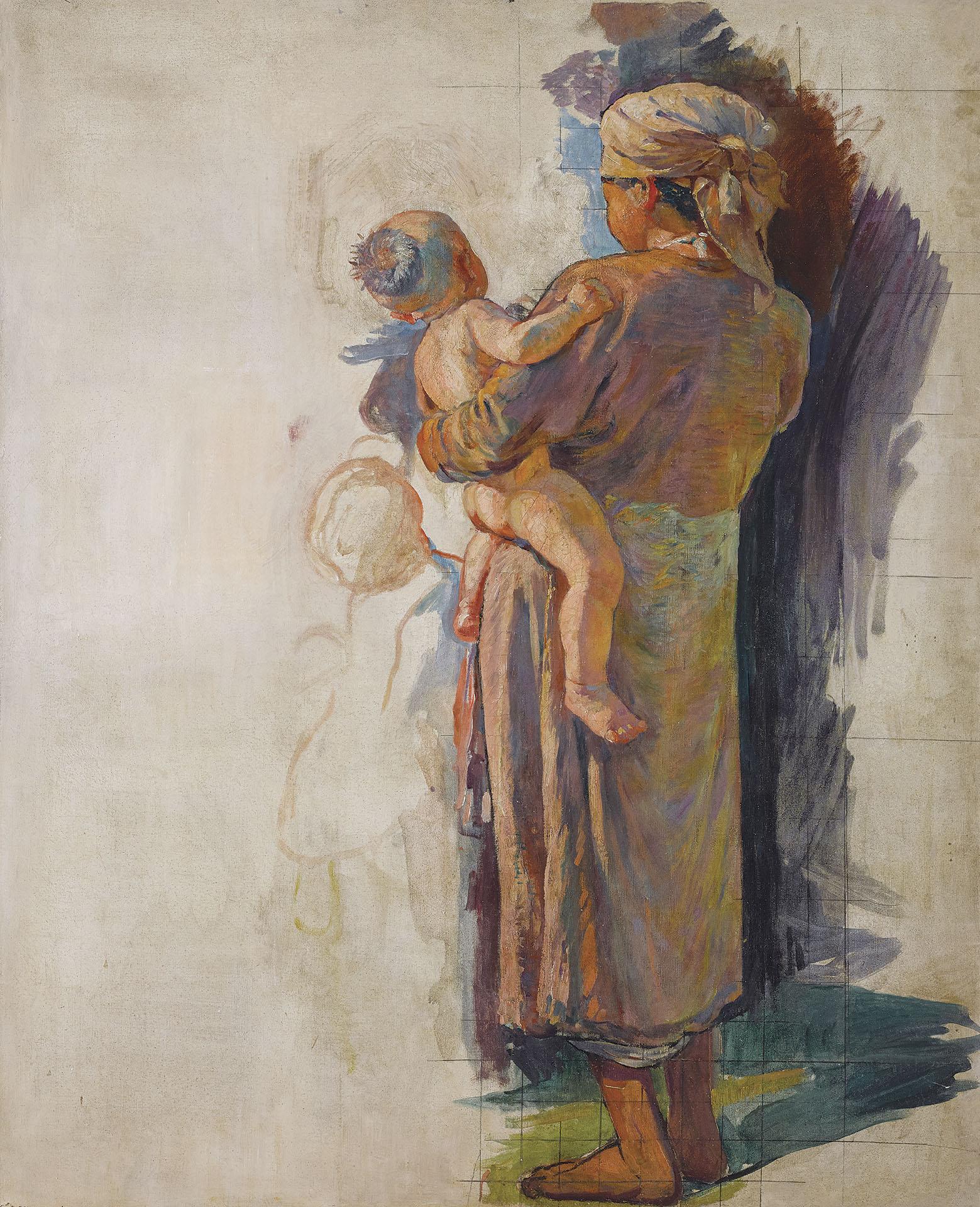 Vietnamienne à l'enfant (Vietnamese Mother and Child)