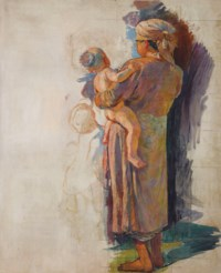 Vietnamienne à l'enfant (Vietnamese Mother and Child)