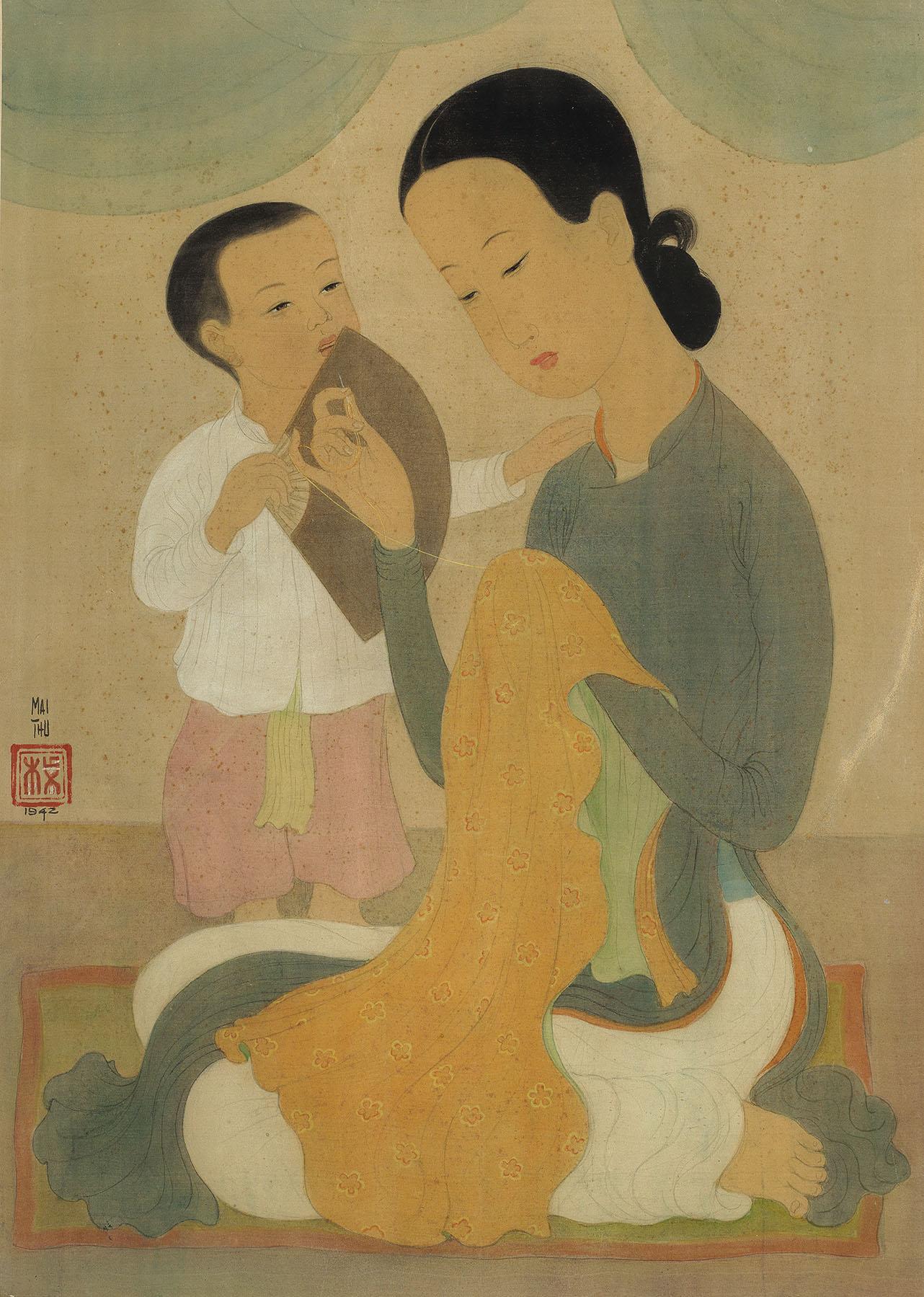 Mére et enfant (Mother and Child)