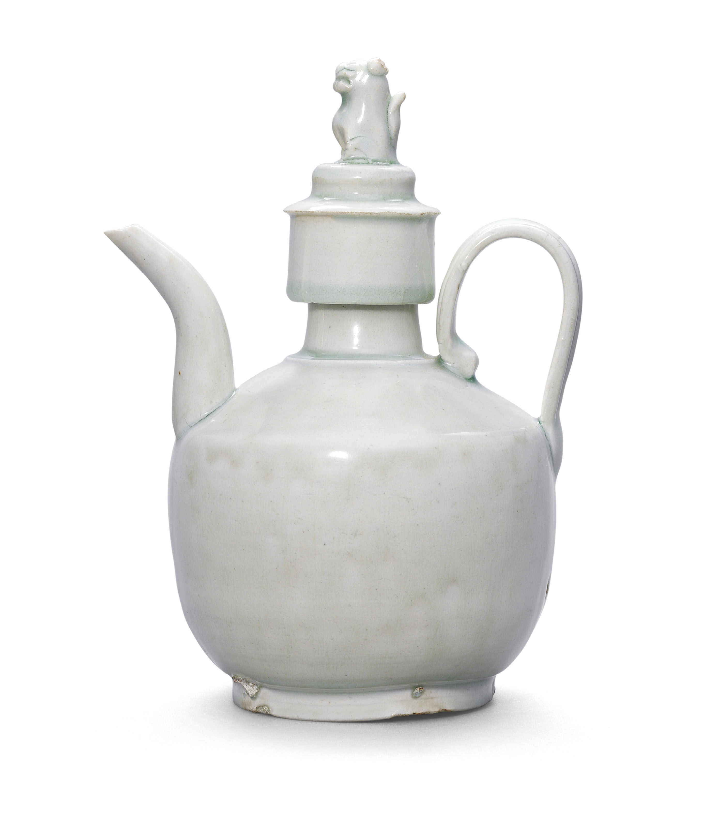 A QINGBAI EWER AND COVER