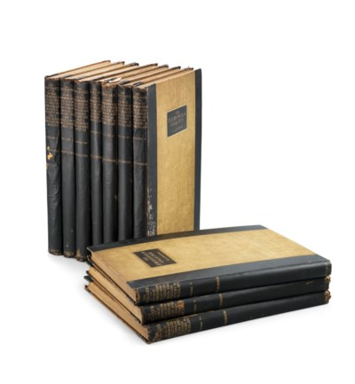 TWO SETS OF CATALOGUES OF THE