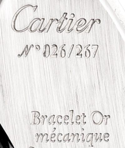 CARTIER. A FINE AND VERY RARE