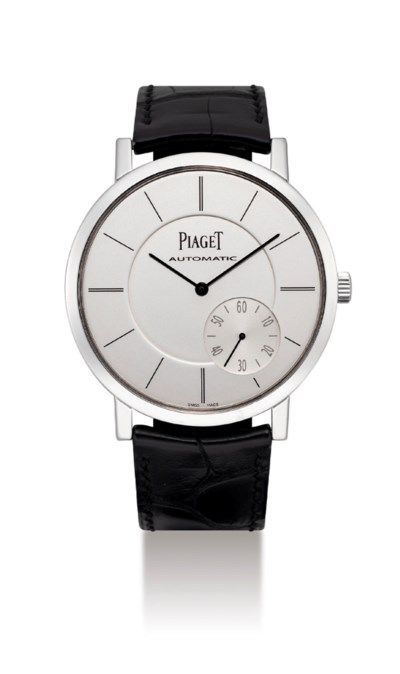 PIAGET. A FINE AND LARGE 18K W
