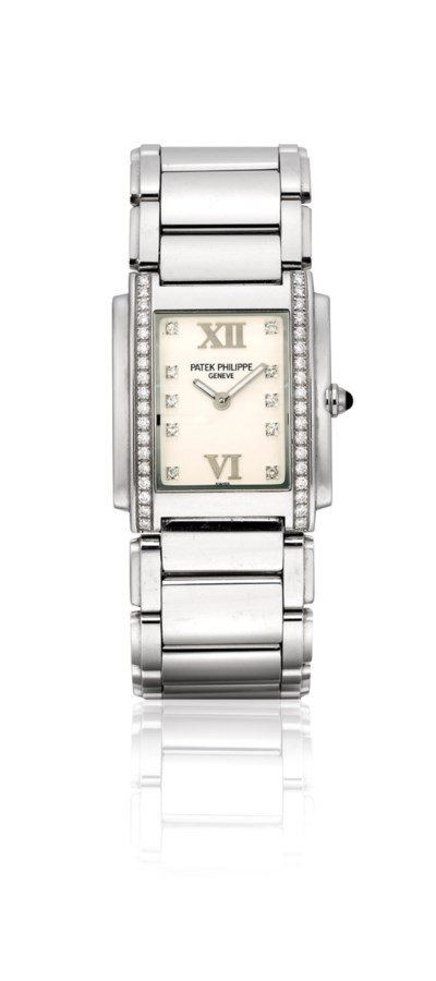 PATEK PHILIPPE. A LADY'S STAIN