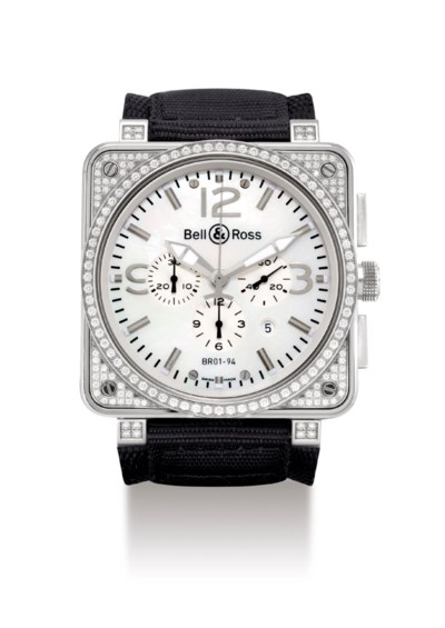 BELL & ROSS. A STAINLESS STEEL