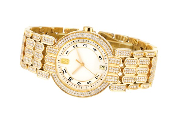 HARRY WINSTON. A FINE 18K GOLD