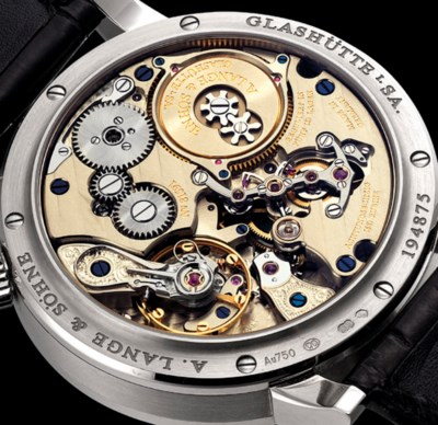 A. LANGE & SÖHNE. A RARE AND F