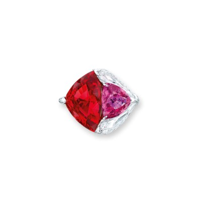 A MULTI-GEM RING, BY FORMS
