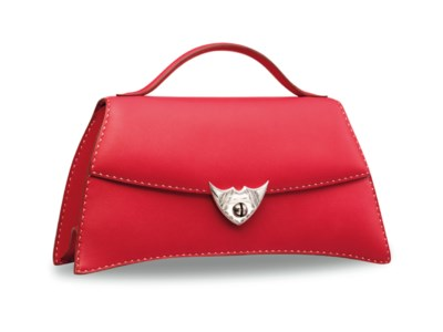 A ROUGE VIF CALF BOX LEATHER A